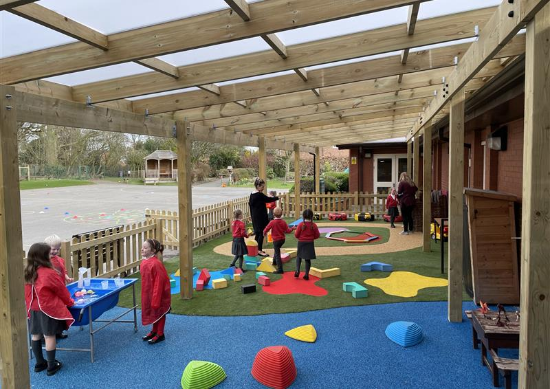 playground timber canopies