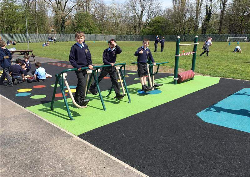 school outdoor gym equipment