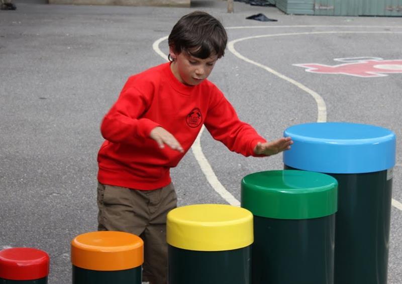 playground music equipment