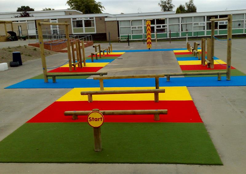 outdoor playground carpet