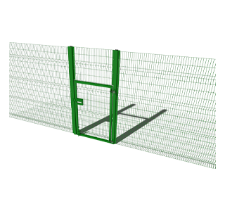 Security Fencing High Single Gate