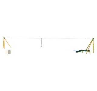 Zip Wire 1-Way (30M)