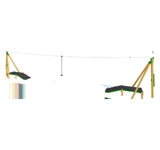 Zip Wire 2-Way (20M)