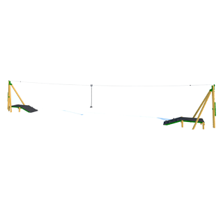 Zip Wire 2-Way (25M)