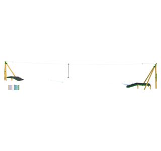 Zip Wire 2-Way (30M)