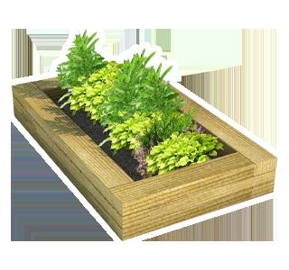 Sleeper Planter