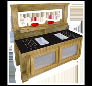 Mini Mud Kitchen