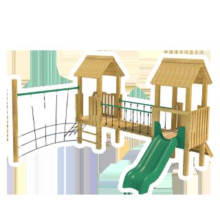Tintagel Modular Play Tower