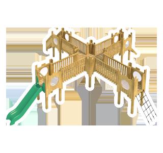 Beeston Modular Play Tower