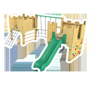 Bolsover Modular Play Tower