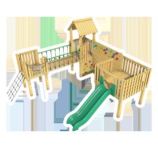 Warkworth Modular Play Tower