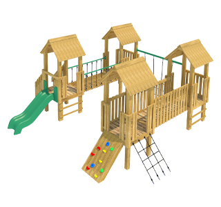 Goodrich Modular Play Tower