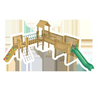 Carisbrooke Modular Play Tower