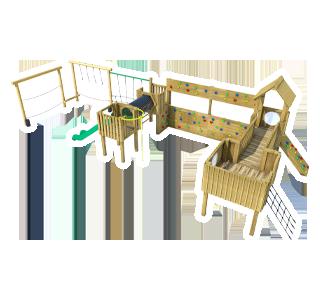 Framlingham Modular Play Tower