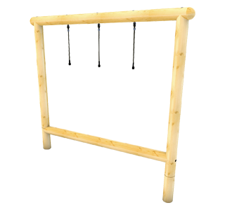 Drop Rope Balance Traverse