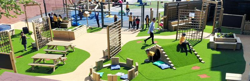 natural play equipment for schools