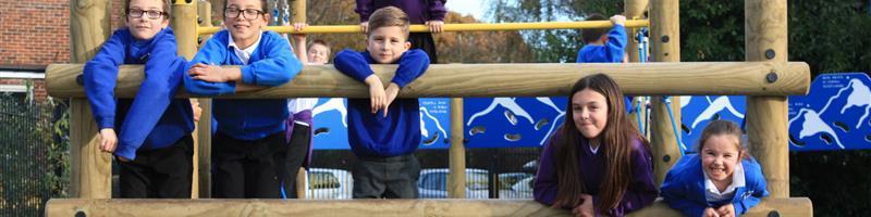 Valentine Primary's Apollo Climbing Frame