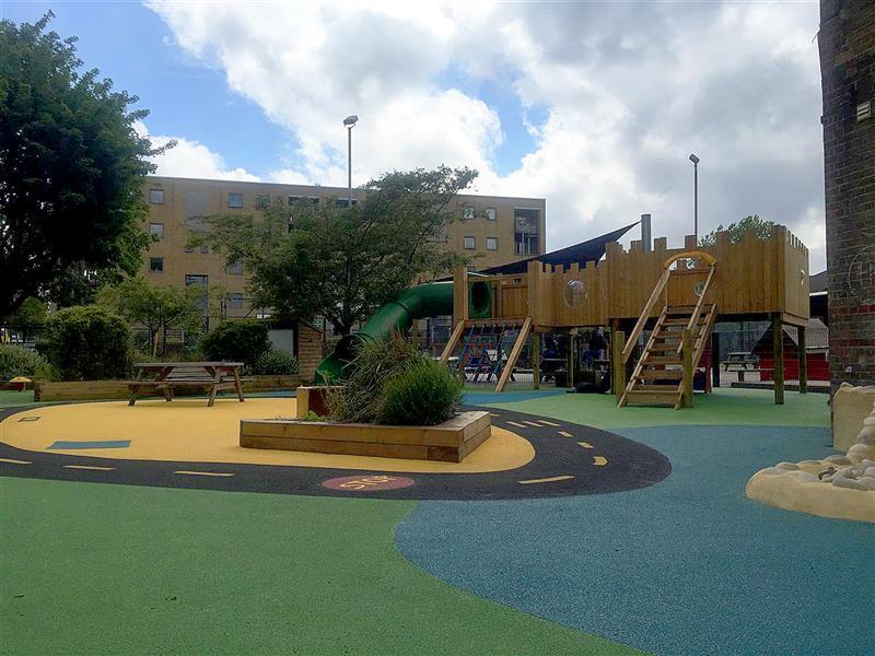 Harbinger Primary School's EYFS Playground