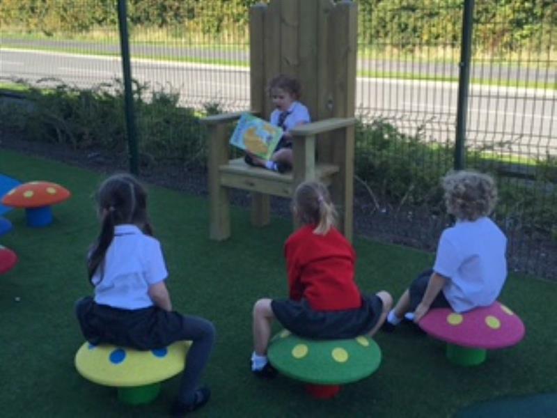 Story Telling Circle - school playground playground
