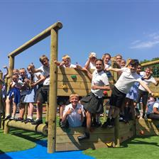 Park Road Primary's Playground Equipment
