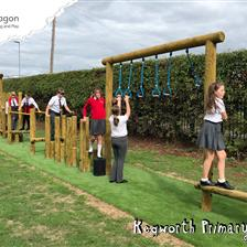 Kegworth Primary School's Trim Trail