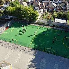 St Clare's Catholic Primary's Multi Use Games Area