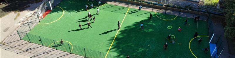 St Clare's Catholic Primary's Multi Use Games Area