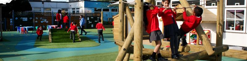 Allenby Primary's EYFS Playground Development