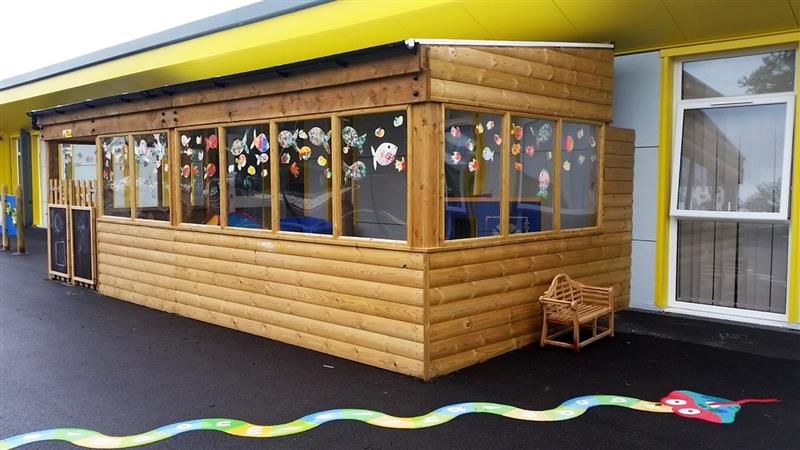 Sensory Outdoor Classroom for children with special educational needs