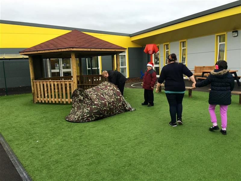 Special educational Needs playground development