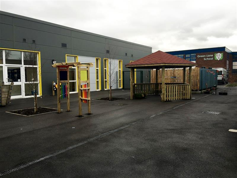 Sensory playground for children with special educational needs