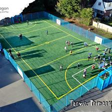 Tarvin Primary's Multi Use Games Area