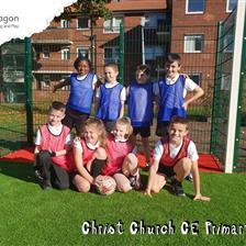 Christ Church Primary's MUGA Pitch
