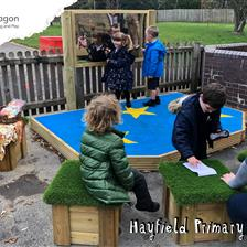 Hayfield Primary's EYFS Playground Equipment