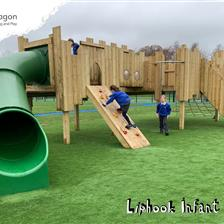 Liphook Infant School's Playground Castle