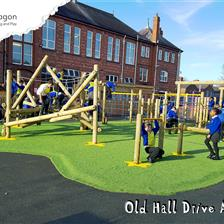 Old Hall Drive's Active Playground Equipment