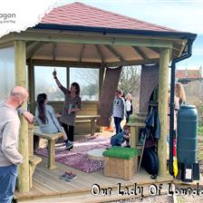 Our Lady Of Lourdes School's Outdoor Classroom