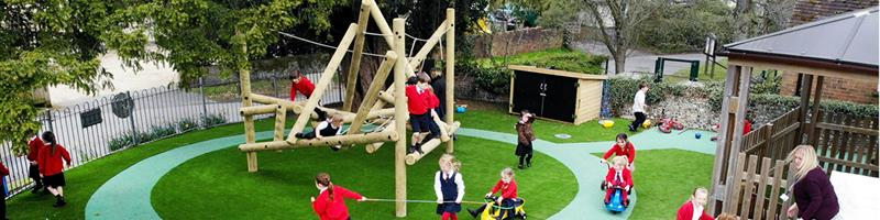 St Mary Bentworth's EYFS Playground Environment