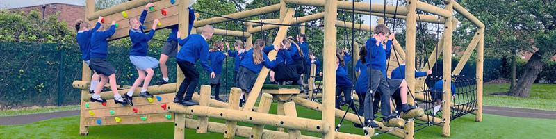 St Anne's Grizedale Forest Circuit Climbing Frame