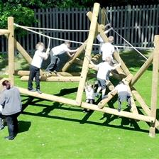 St David Primary School's Active Play Area
