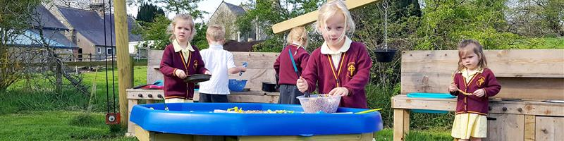 Whittonstall First School's EYFS Play Equipment
