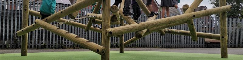The Ferns Primary Academy's Climbing Frame