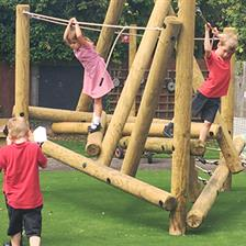 Kersey Primary School's EYFS Playground Equipment