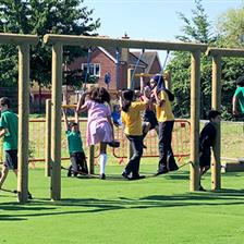 Great Denham School's Active Playground Equipment