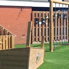 Myland Community School's Playground Equipment
