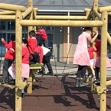 Manor Junior School's Playground Equipment