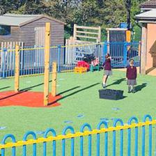 Parbold Douglas School's EYFS Playground Equipment