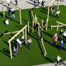 Edenthorpe Hall Academy's Active Play Area