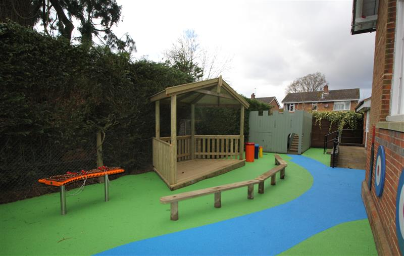 outdoor stage for schools EYFS
