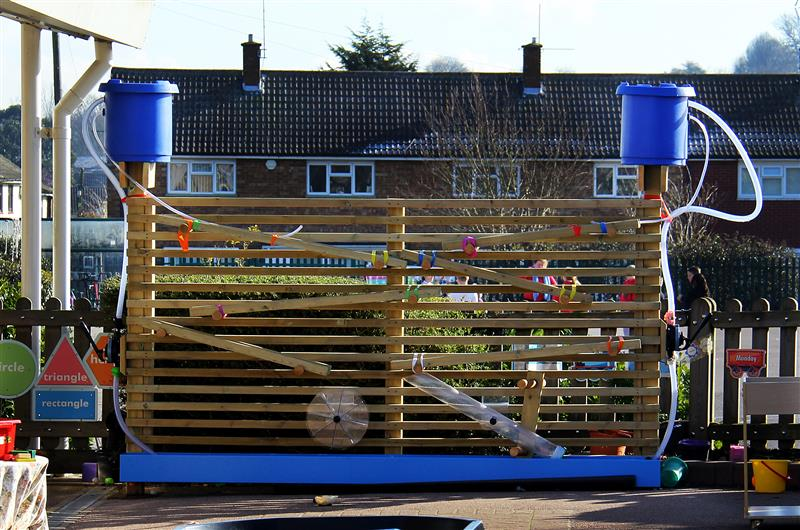 Water Wall for Early Years Children